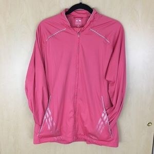 Adidas Golf Climaproof Storm Pink Windbreaker XL